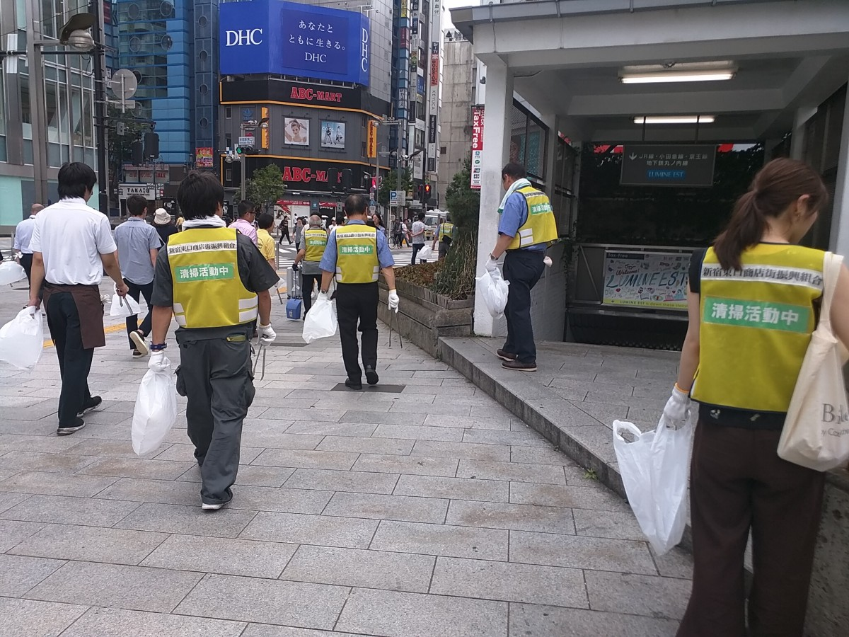 ポイ捨て防止・路上喫煙防止キャンペーン
