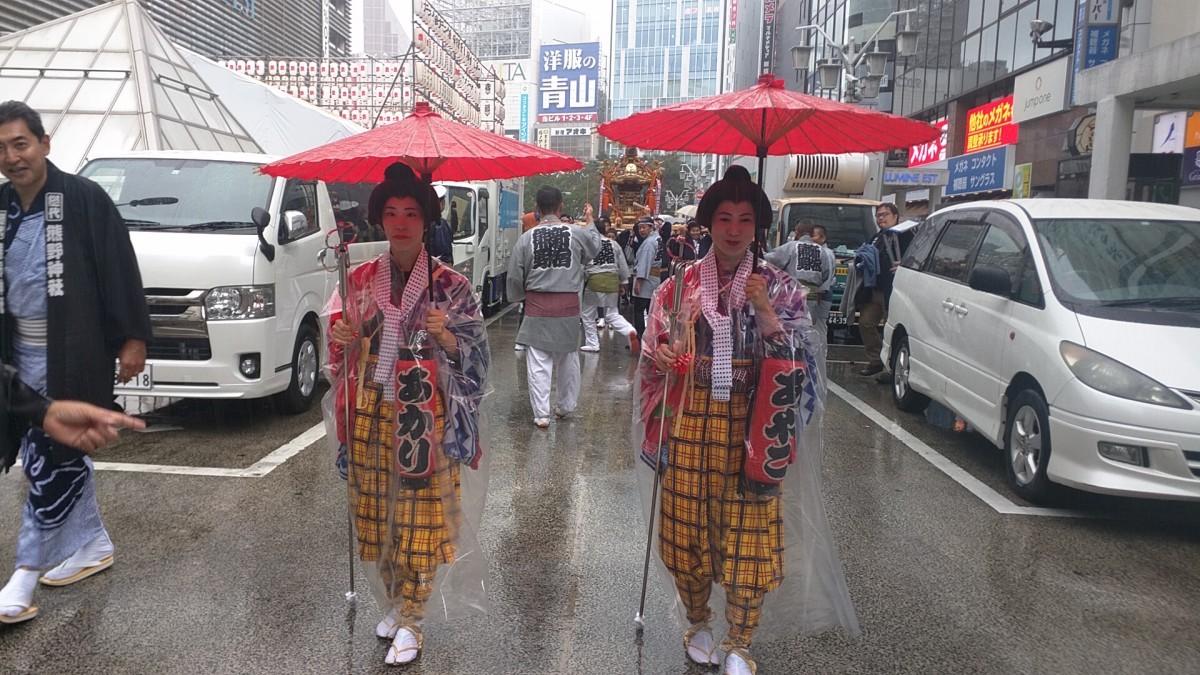 平成30年 新宿十二社熊野神社例大祭