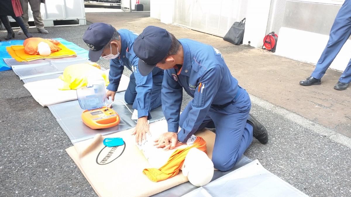 2018年 秋の自衛消防訓練